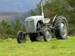 Photo of a tractor