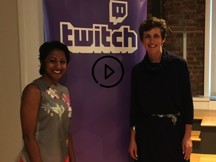 Karen and Poornima on Twitch TV