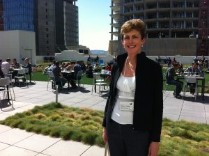Karen Catlin at Twitter Headquarters