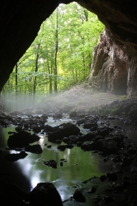 Photo of a cave