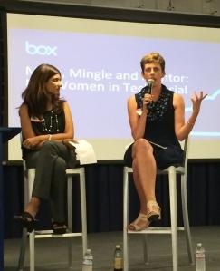 Karen on speaking on a panel