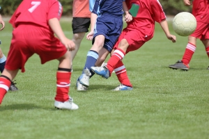 Picture of boys playing soccer