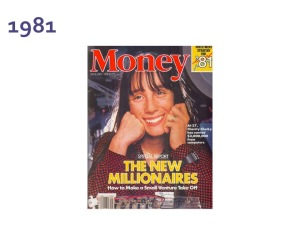 Money Magazine cover 1981