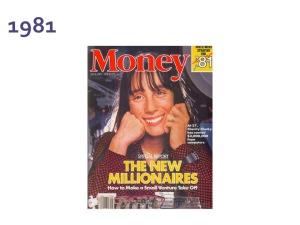 Money Magazine cover 1981