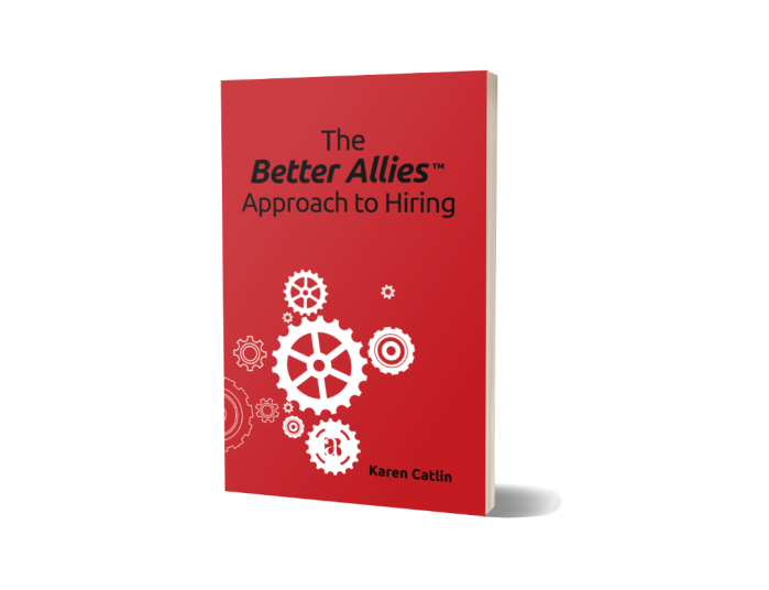 Photo of the cover of The Better Allies Approach to Hiring